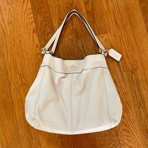 COACH Lexy Pebbled Leather Shoulder Bag Purse